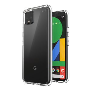Google Pixel 4 Clear Soft Jelly Case - Goospery