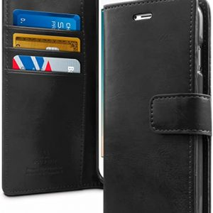 Google Pixel 4 Flip Wallet Case Bluemoon Dairy - Black